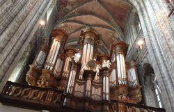 les montois vont dire au revoir aux grandes orgues de sainte waudru