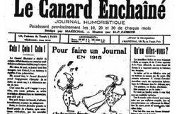 Septembre 1915: le Canard Enchaîné se déchaine