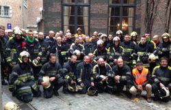 Mons: soixante pompiers sur la Place, ils veulent des réponses à leurs questions