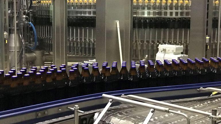 Chimay: nouvelle ligne d'embouteillage moins énergivore pour la bière trappiste