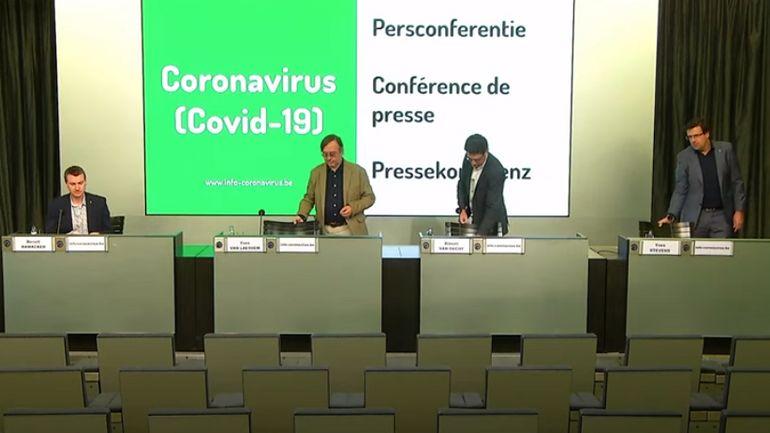 Coronavirus en Belgique ce lundi 11mai: suivez le point presse de 11heures en direct