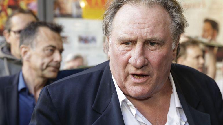 Gérard Depardieu honore le Brussels International Film Festival de sa présence