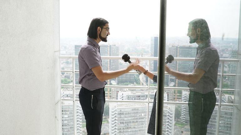 """Hassan Al Hilou, le plus jeune entrepreneur de Belgique: """"Moins de blabla, plus de 'do-do'"""""""