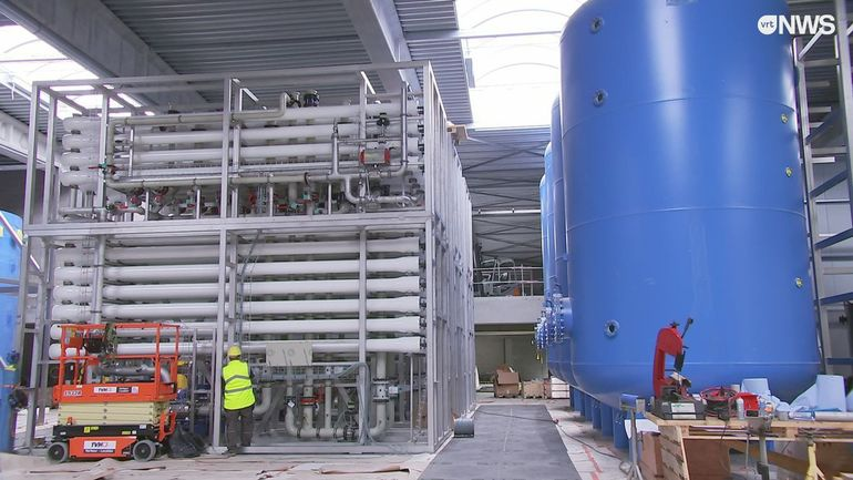 Ostende: une station d'épuration va rendre potable l'eau du canal, pour évter de dépendre de la Wallonie