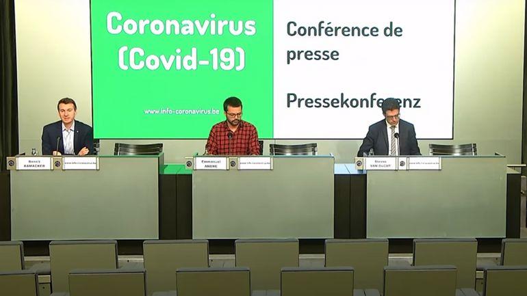 Coronavirus : suivez le point de presse du centre interfédéral de ce vendredi (direct à 11h)