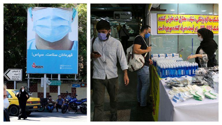 Coronavirus en Iran : 216 nouveaux décès, le corps médical à bout de forces