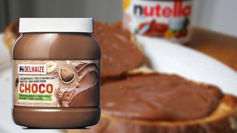 La justice donne raison au 'choco' de Delhaize face au Nutella de Ferrero