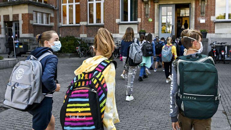 Coronavirus en Belgique: 36 cas pour 100.000 élèves ont été signalés cette semaine