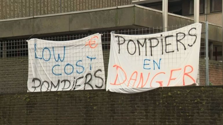 """Le blues des pompiers bruxellois : """"Comme on n'est pas rentable, le monde politique nous oublie"""""""
