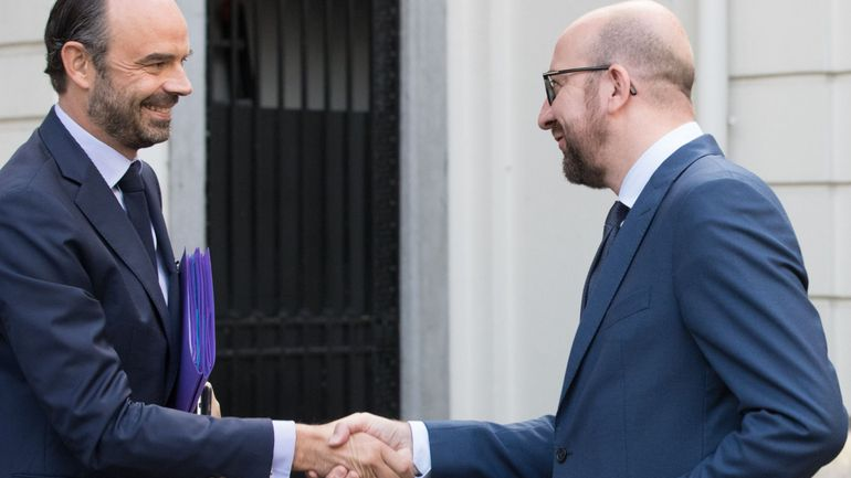 Sécurité et économie au menu de la rencontre des Premiers ministres belge et français