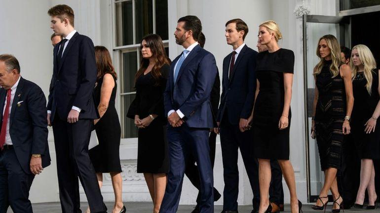 La convention républicaine, plus que jamais une affaire de famille