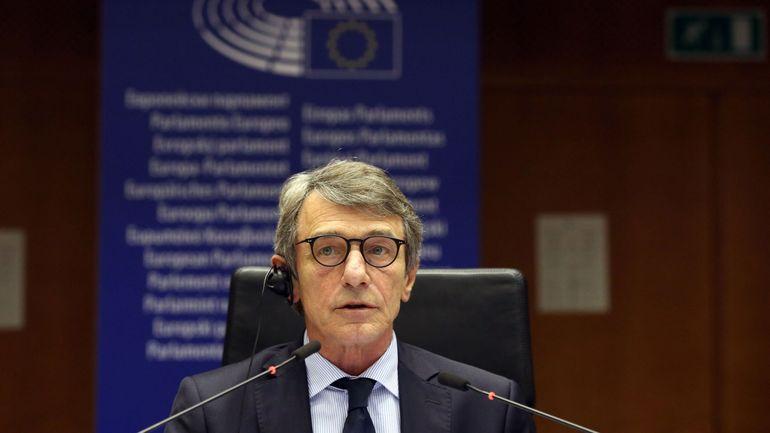 Coronavirus: le président du Parlement européen David Sassoli se met lui-même en confinement