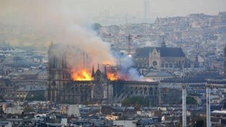 L'incendie de Notre-Dame de Paris va faire l'objet d'une série télévisée
