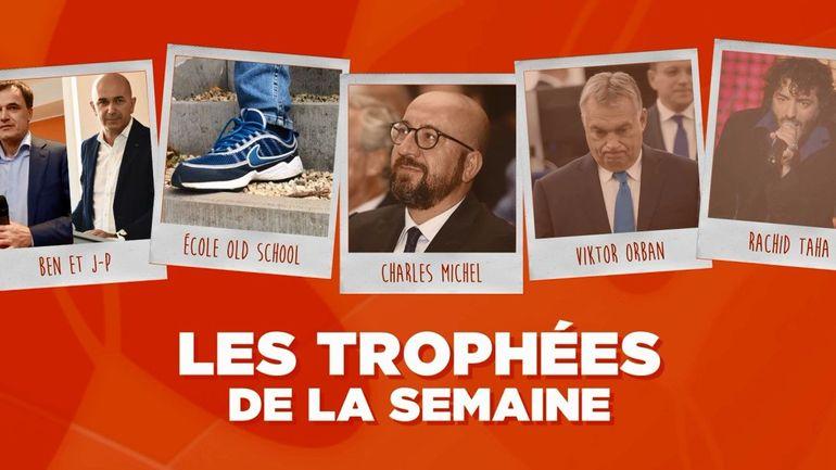 Les Trophées de la Semaine : les frères Lutgen, une école de Schaerbeek, Charles Michel, Viktor Orban et Rachid Taha