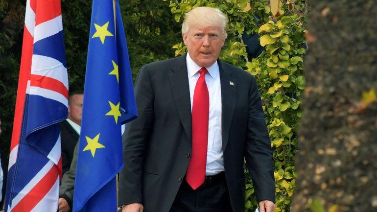 """""""La semaine prochaine!"""": seul contre tous, Trump fait durer le suspense sur le climat"""