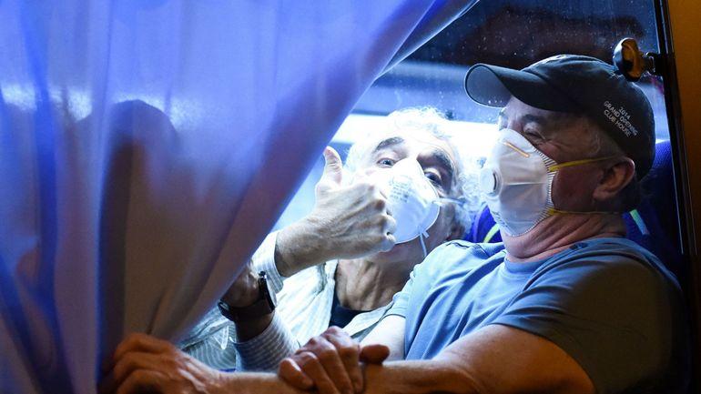 Coronavirus: quatorze cas positifs parmi les Américains évacués du paquebot au Japon