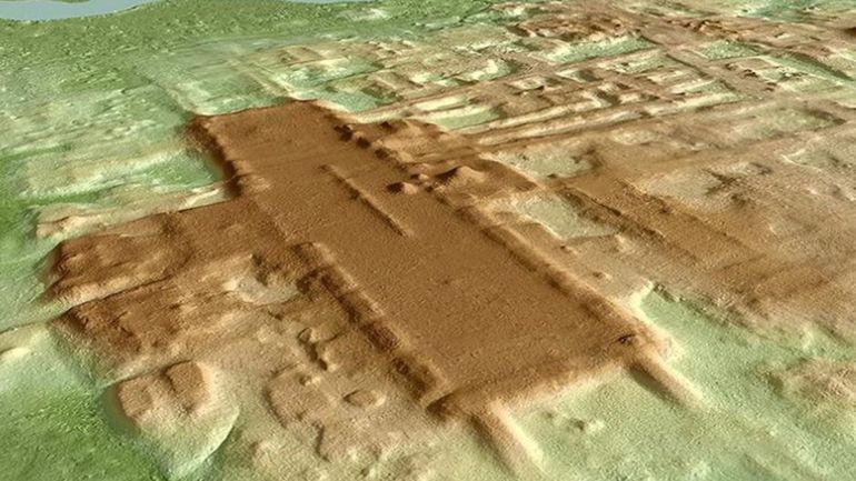 Le plus vieux et plus grand complexe maya découvert au Mexique
