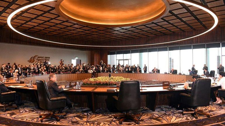 Apec: pas de déclaration commune après la passe d'armes entre Pékin et Washington