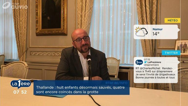 Voila La Conclusion Que Le Premier Ministre Charles Michel Tire De Laventure Lequipe Belge Au Mondial Football En