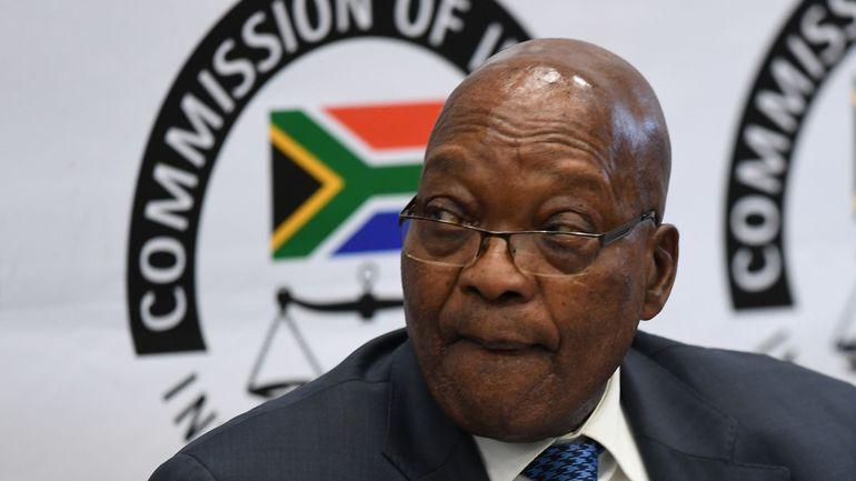 Afrique du Sud: Jacob Zuma esquive les questions et invoque les trous de mémoire