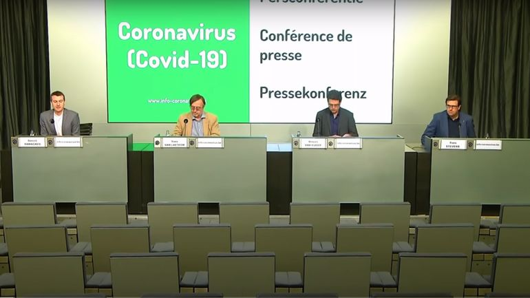 Coronavirus en Belgique ce vendredi 15 mai : suivez la conférence de presse du SPF Santé Publique (direct à 11h)