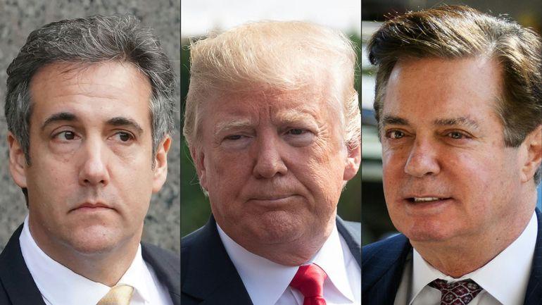 Trump discrédite son ex-avocat et loue son ex-chef de campagne