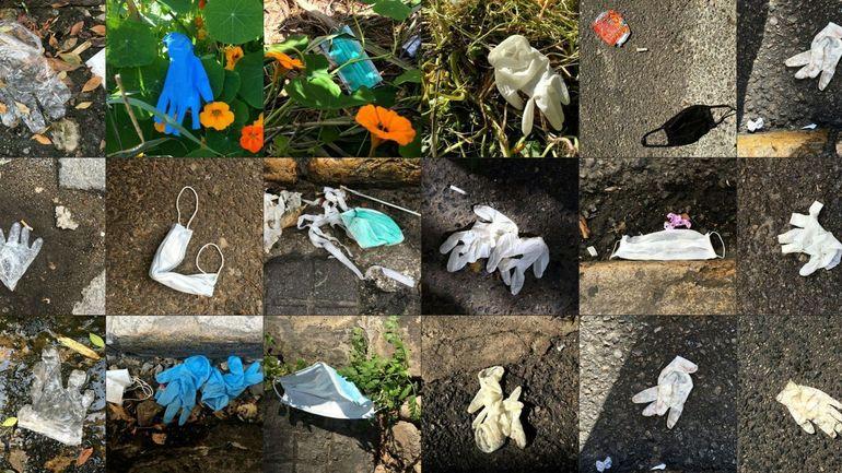 Coronavirus : la présence de déchets sauvages liés à la crise sanitaire est en augmentation en Belgique