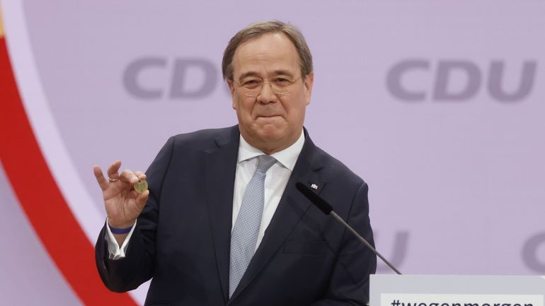 Election en Allemagne : Armin Laschet, favorable à la continuité avec Angela Merkel, prend la tête de la CDU