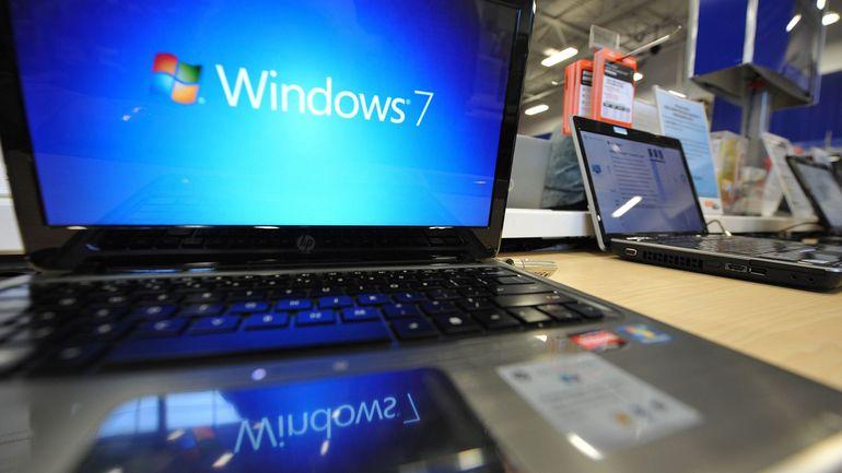 Des PC sous Windows 7 toujours utilisés dans certaines administrations et cabinets