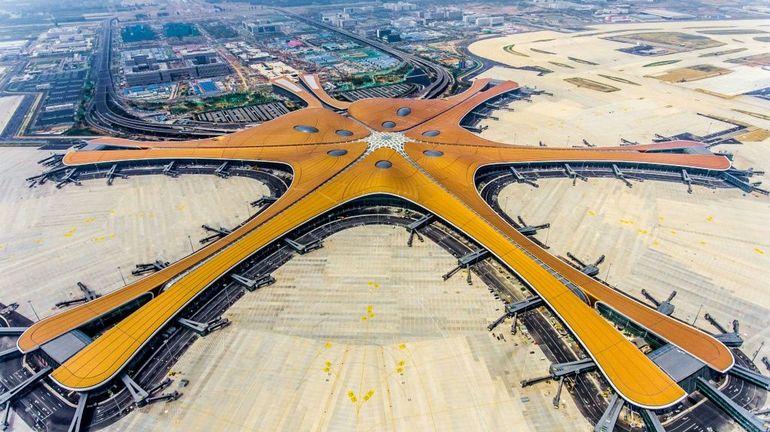 Pékin inaugure son nouvel aéroport, qui devrait accueillir 72 millions de passagers par an en 2025