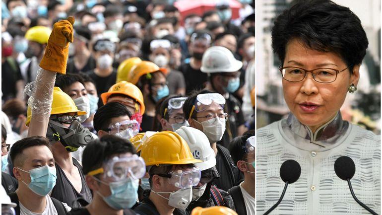 Un projet de loi suspendu à Hong Kong: pourquoi un violent mouvement de contestation a traversé le pays?