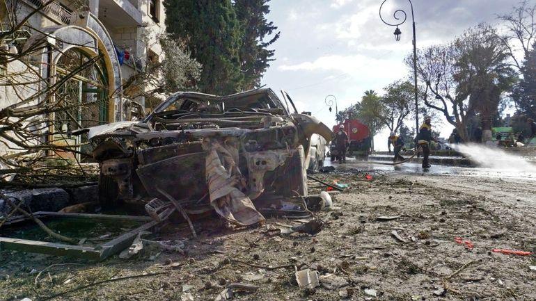 Syrie: au moins 24 morts dans un double attentat à Idleb