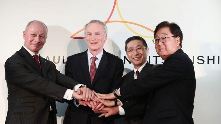 """Renault-Nissan: """"nouveau départ"""" pour l'Alliance qui veut tourner la page Ghosn"""