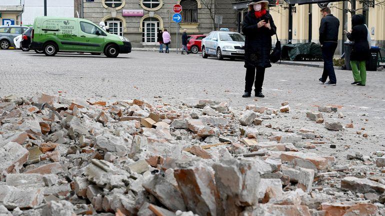 Croatie: un séisme de 5,3 de magnitude frappe Zagreb et fait au moins 1 mort, une crise qui s'ajoute à celle du coronavirus