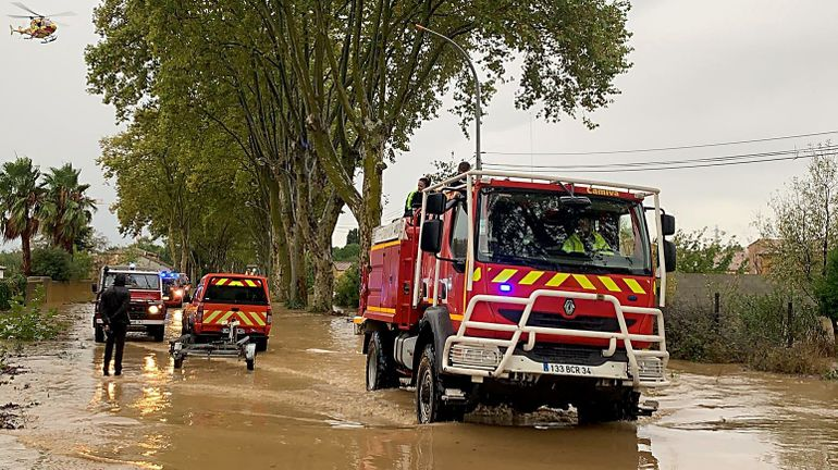 France: gros dégâts sur le rail entre Montpellier, Toulouse et l'Espagne suite aux orages