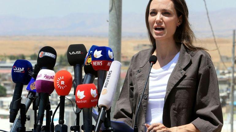 Réfugiés vénézuéliens au Pérou: l'ONU missionne Angelina Jolie
