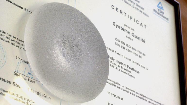 Bientôt un registre de traçabilité des implants médicaux tels que des prothèses mammaires