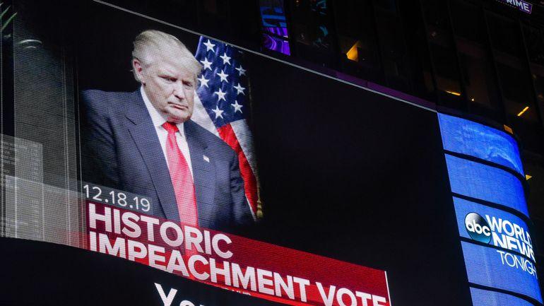 Procédure de destitution de Trump: le président des Etats-Unis mis en accusation lors d'un vote historique au Congrès