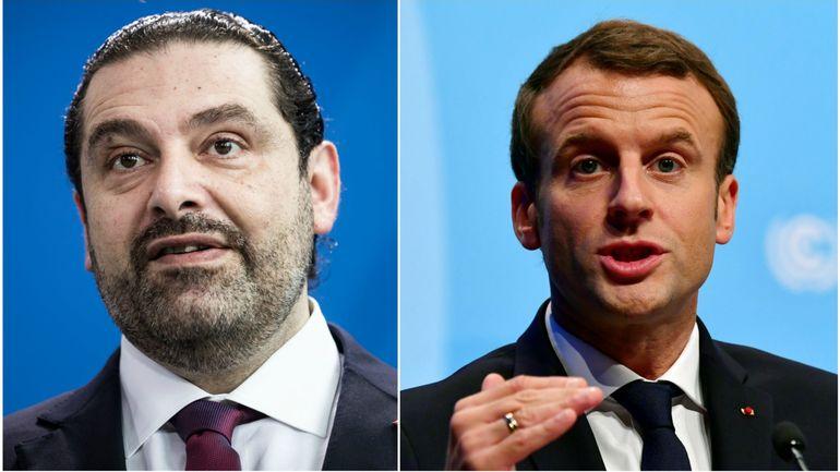 RTBF, Saad Hariri rencontrera Emmanuel Macron samedi à Paris-Elysée