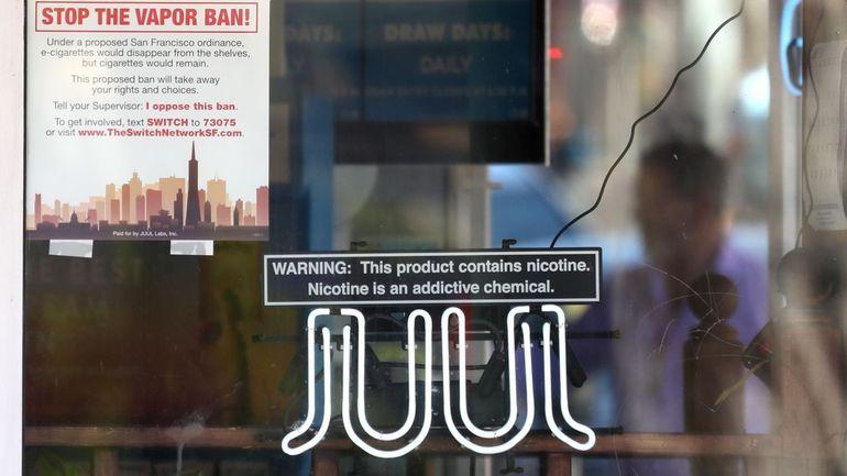 Cigarettes électroniques: la ville de Washington poursuit à son tour Juul en justice