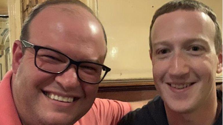 Le patron de Facebook Mark Zuckerberg repéré dans l'un des plus célèbres cafés de Bruxelles