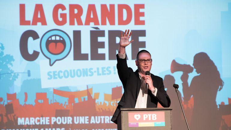 Formation fédérale: «Les gens veulent aujourd'hui une priorité au social» selon Raoul Hedebouw