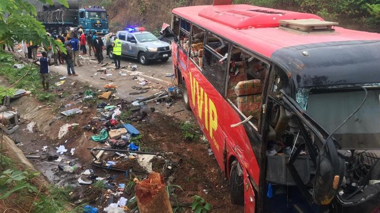 Ghana: au moins 60 morts dans une collision frontale d'autocars