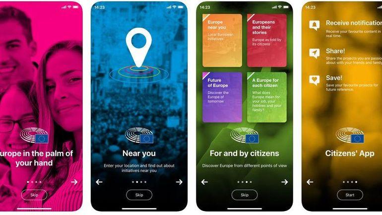 Citizens' App: l'application qui vous permet de mieux comprendre l'Europe