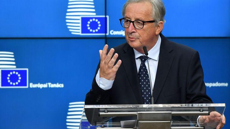 Brexit: Les chances d'un accord augmentent, selon Jean-Claude Juncker