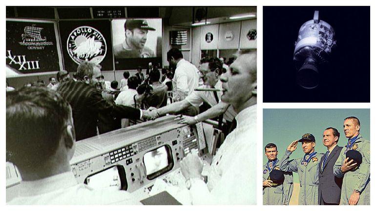 """Dans le rétro: """"Houston, nous avons eu un problème"""", il y a 50 ans, Apollo 13 faisait frémir la planète"""