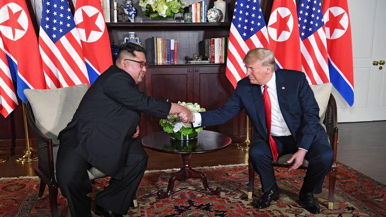 Hasil gambar untuk Sommet entre Donald Trump et Kim Jong-un : le pari d'une détente historique