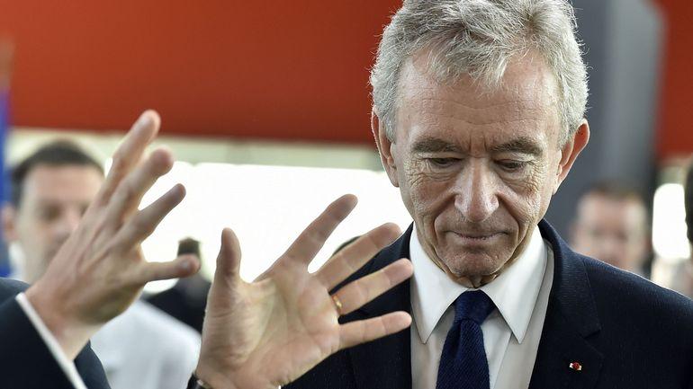 Le Français Bernard Arnault devient la deuxième fortune mondiale, devant Bill Gates