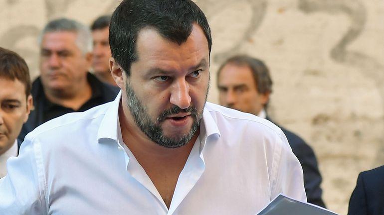 Matteo Salvini s'en prend aux agences de notation