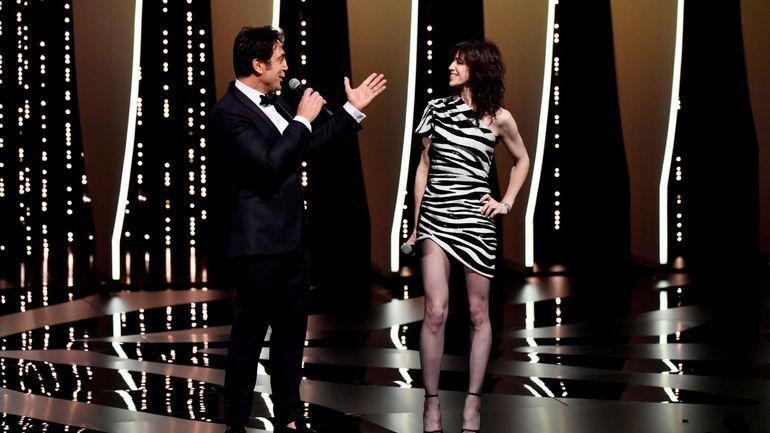 Javier Bardem et Charlotte Gainsbourg ont ouvert le 72e festival de Cannes
